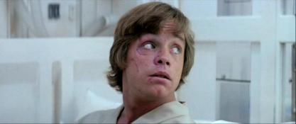 CICATRICES LUKE SKYWALKER