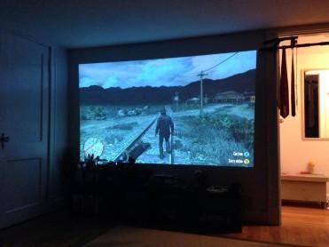 projector gamer