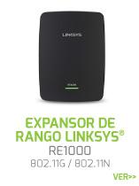 EXPANSOR-DE-RANGO-LINKSYS-RE1000