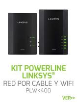 KIT-POWERLINE-LINKSYS-PLWK400